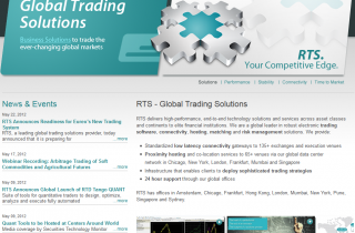 CMS for Trading company